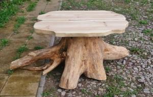 stół z korzenia Jabłonna